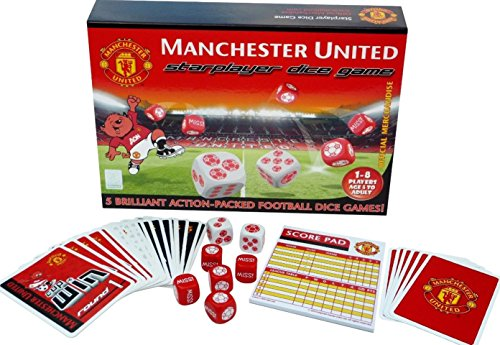 Inspired Games International Limited Starplayer Manchester United Dice Game