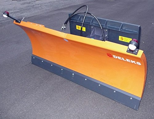 Schneeschild für Traktoren Kompaktlader mit Universalplatte - LN-250 M