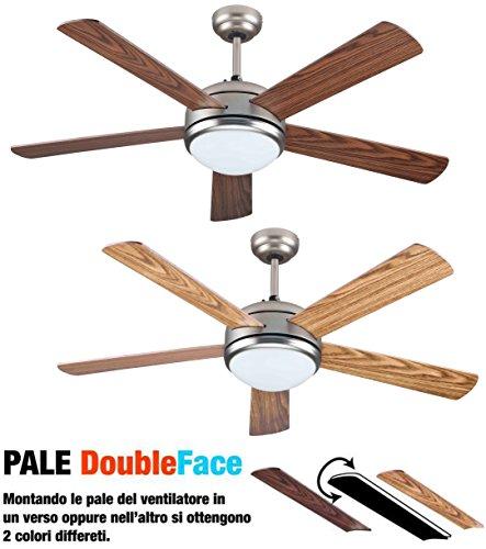 Vinco ventilatore da soffitto 5 pale 132 cm 70934