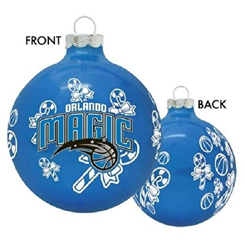Home Comforts Orlando Magic NBA Basketball Glass Christmas Ornament Holiday Decoration