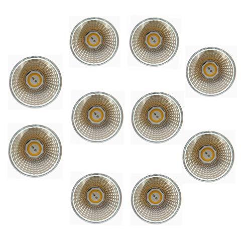 12v Ac Motion Sensor (RZL LED Lights, LED nicht dimmbare Glühlampe, MR16 90% Energieersparnis, 45 Grad, AC/DC 12V, 5 Watt, 50W Halogenlampe, GU5.3-Sockel, 3000K / 6000K 12V AC/DC 10er-Pack (Farbe : Kaltes Weiß))