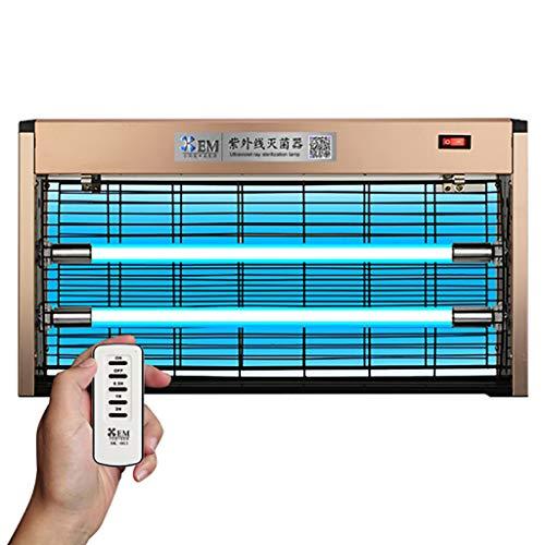 Zimmer Sanitizer (Die Reinigung Luft Lampe 30w UVC Desinfizieren Licht mit Fern Timing-Antibakterielle Rate 99% Tragbare Sanitizer Sterilisation Lampe keimtötende UV-Lampe für Ideal für Zimmer)