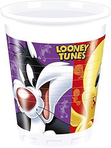 200-ml-de-looney-tunes-vasos-de-plastico-paquete-de-8