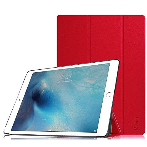 Fintie iPad Pro 12.9 Zoll Hülle - Ultra Schlank Superleicht Ständer Schutzhülle SlimShell Cover Case Tasche mit Auto Schlaf/Wach Funktion für Apple iPad Pro 12,9 Zoll (2015 Version), Rot