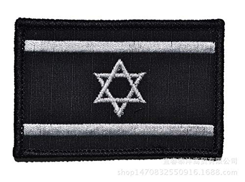 PinkdoseIsrael Flagge die Patch 3D Aufkleber Persönlichkeit Stickerei Design Abzeichen für...