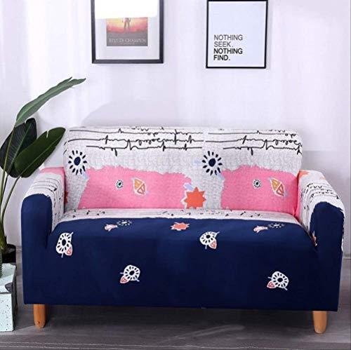 Dyb&home fodera per divano copridivano elasticizzato 1/2/3/4 posti divano, lavabile in lavatrice, stampa a colori creativa tessuto protettivo in poliestere jacquard