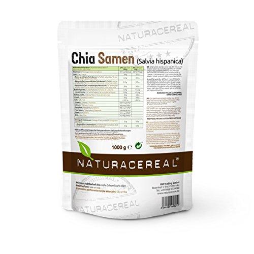 Naturacereal Premium Chia Samen (1 x 1 kg) - 3