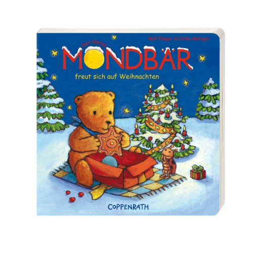 Der kleine Mondbär freut sich auf Weihnachten -
