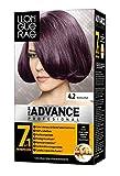 Llongueras Color Advance - Tinte, color 4,2-bourgogne, 200 gr