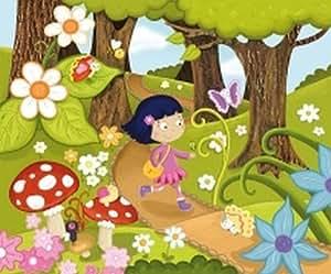 Puzzle Zoé Yatéka forêt - Zoe Yateka creations