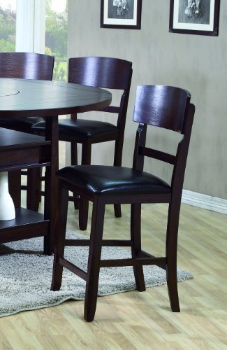Conner Counter Height Chair (Set of 2) by Crown Mark by Crown Mark Furniture