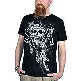 Sons Of Anarchy Smokey Reaper Camiseta Negro XL