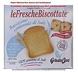 GrissinBon le Fresche Biscottate Bassissimo contenuto di Sale 5x 250g = 1250g Unterverpackt 8 Portionen mit 4 Scheiben. Zwieback aus Weizenmehl Kochsalzarm. Ohne Palmöl.