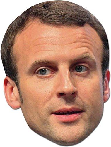 Valls Kostüm Manuel - Star Einbauöffnungen sm257Emmanuel Macron Maske (Standard)