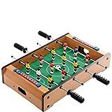 Tisch-Kicker mit 2 x 5 Feldspielern 2 x 1 Torwart Ball Spielstandsanzeige Goooaliat BUTLERS