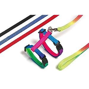 Art Sportiv Plus Kaninchengeschirr und -Leine L: 140 cm B: 10 mm farblich sortiert
