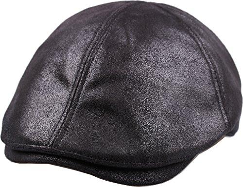 35ea64de989d9 sujii iCAB Flat Cap Tapa Plana Newsboy Beret Boina Cabbie Hat Sombrero de  Cabbie Hunting Cap