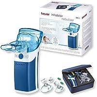 Preisvergleich für Beurer IH 50 Inhalator mit Schwingmembran-Technologie, Medizinprodukt mit umfangreichem Zubehör, 7,2 x 5,9 x 13,4 cm