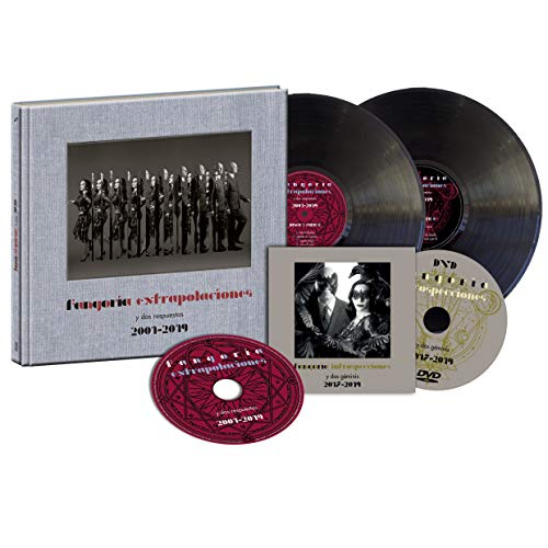 Fangoria - Extrapolaciones y dos respuestas 2001-2019 (2LP+CD+DVD) Edición Firmada [Vinilo]