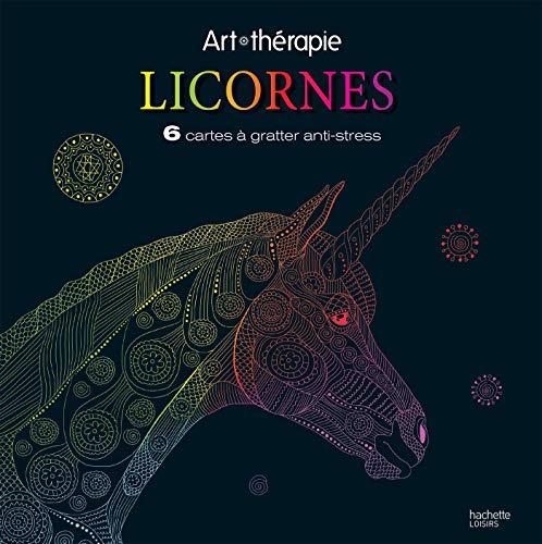 Licornes: Cartes à gratter par Florence DELLERIE