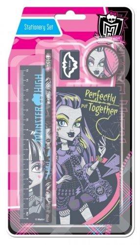 Monster High Zeichen Schreibwaren-Set (Zeichen High Monster)