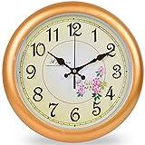 Foxtop 30 cm Retro Nicht tickende Silent Wanduhr für Wohnzimmer Schlafzimmer Küche Büro, Hauswand Dekoration Uhr