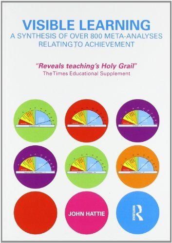 Visible Learning: A Synthesis of Over 800 Meta-Analyses Relating to Achievement by Hattie, John (2008) Paperback