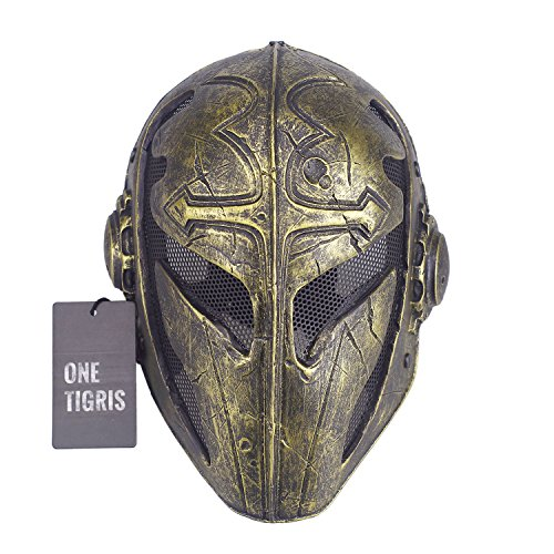 OneTigris, OneTigris Le Masque Tactique De Protection Visage Masque De  Homme Pour Halloween Carnaval Mardi f049d3855faa