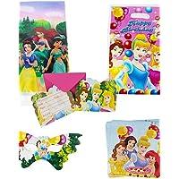 ChristinaC- 75pcs principessa del bambino decorazione decorazioni festa di compleanno per bambini evnent forniture da parte del partito 18 persone