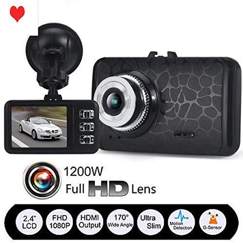 "Altsommer 2,4""LTPS Autokamera 1080P HD Kamera,WiFi mit 120° Weitwinkelobjektiv,Multi Sprachen, Auto Kamera mit Continuous Loop-Video, Bewegungserkennung,G-Sensor,32GB (A)"