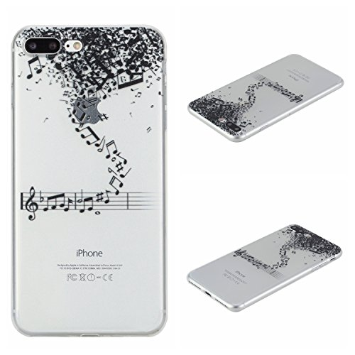 Voguecase® für Apple iPhone 7 4.7 hülle, Schutzhülle / Case / Cover / Hülle / TPU Gel Skin (Lace Blume 02) + Gratis Universal Eingabestift Hinweis 03