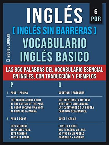 Inglés Inglés Sin Barreras Vocabulario Inglés Basico 6