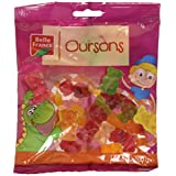 Belle France Oursons Gélifiées Sachet de 200 g - Lot de 12