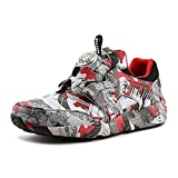Puma Disc Blaze Camo x Trapstar Mens Green Textile Lace up Sneakers Shoes 11.5