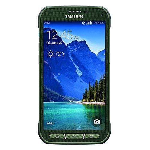 Samsung Galaxy S5 Active G870A 16 GB AT&T ohne SIM-Lock, GSM 4G LTE Quad-Core-Handy mit 16 MP Kamera, Camouflagegrün (S5 Galaxy Handys Att)
