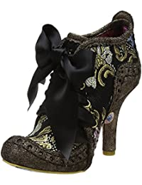 Irregular Choice Abigail's Third Party Bronce Oro Mujeres Botas