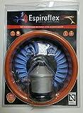 Espiroflex M119547 - Regulador butano con 1 5 m manguera gas