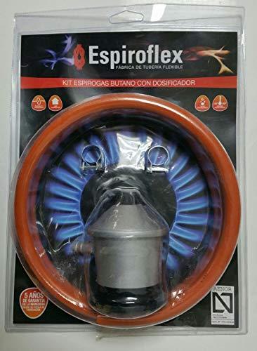 Espiroflex M119547 - Regulador butano 1 5 m manguera