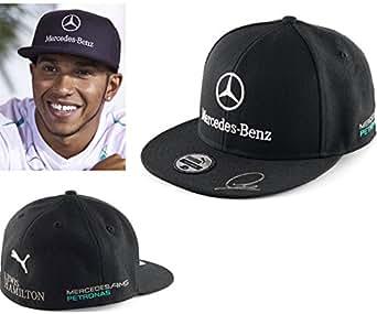 Lewis Mercedes AMG Casquette Plate Pointe De Hamilton 2014