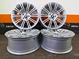 BMW 1er E87 F20 2er 3er E90 F30 4er 5er X1 X3 X4 Z3 Z4 E85 19 Zoll Alufelgen Silver Painted NEU