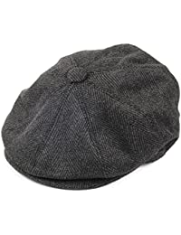 Casquette Gavroche à Chevrons anthracite JAXON & JAMES