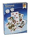 Idena 6250080 - Romme - Kartenspiele, 2 x 55 französisches Blatt