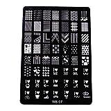 Best Acheter Timbres - XLORDX New Nail art Plates Noël Halloween Image Review