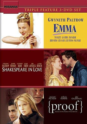 Gwyneth Paltrow Triple Feature (Emma / Shakespeare in Love / Proof)