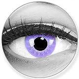 Lenti a contatto colorate annuali lenti a contatto Meralens 1 porpora Crazy Fun Solar Purple. Top quality to carnival carnival Halloween con lenti a contatto contenitore senza forza