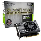 EVGA NVIDIA GeForce GTX 1050 Ti SC (Superclock) Gaming 4 GB GDDR5 128 Bit Memory HDMI/DP/DVI PCI Express 3 Grafikkarte – Schwarz