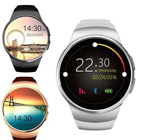 Gionee Elife E8 Compatible Ceritfied Y1 High Quality Touch Screen Bluetooth Smart Watch with SIM Card Slot And NFC Cell Phone Watch Phone Remote Camera(Assorted Color & Design)  available at amazon for Rs.1999
