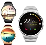 Best Smartwatch Under 2000 - Captcha Y1 Touch Screen Bluetooth Smart Watch with SIM Card Slot Watch Phone Remote Camera for SAMSUNG Galaxy S6 Edge (assorted color) Amazon Deal