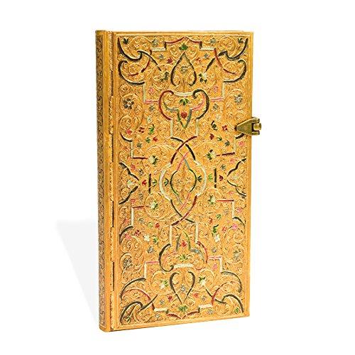 Descargar Libro Carnet PAPERBLANKS ligné Marqueterie d'Or - Marqueterie d'Or - Slim 95 × 180mm - 208pages de Unknown