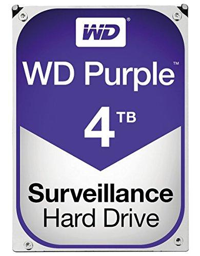 Wd Purple 4tb Surveillance Hard Disk Drive (wd40purz)